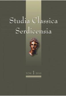 Studia Classica Serdicensia: Musarum semper amator. том 1 - unipress.bg